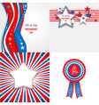 independence day set vector image