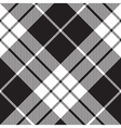 Macleod tartan plaid diagonal seamless pattern vector image vector image