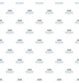 remote control pattern seamless vector image vector image