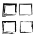 set abstract picture frames vector image vector image
