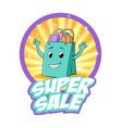 super sale vector image