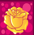 background of a rose vector image