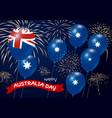 australia day design vector image vector image
