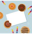 happy hanukkah- traditional jewish holiday vector image vector image