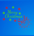 merry christmas banner and giftcard vector image vector image