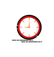 o clock watch mbe style logo vector image vector image