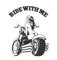 Ride with Me vector image vector image