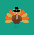 Thankgiving day turkey vector image vector image