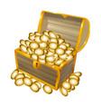 treasure chest 03 vector image