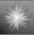 glowing light effects lens flare eps 10 vector image
