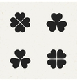 Clover Icon Set vector image