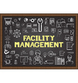 Facility management vector image vector image