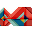 Square shape geometric abstract background