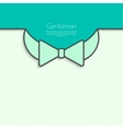 Abstract background with bow tie vector image
