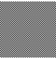 Black and white checkered square pattern vector image vector image