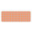 building brick halftone icon vector image