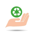 environment friendly concept recycle symbol vector image
