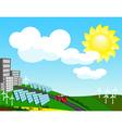 environmentally friendly vector image