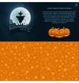 Happy Halloween Postcard vector image vector image