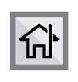 Home Arrow Icon vector image