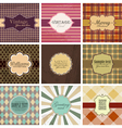 Set of vintage backgrounds vector | Price: 1 Credit (USD $1)