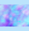soft color pastel pink blue polygonal vector image vector image