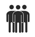 teamwork solidarity community and partnership vector image vector image