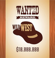 western banner vector image vector image
