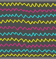 abstract handdrawn seamless pattern simple vector image