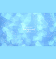 abstract soft blue polygonal space background vector image vector image