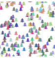 Colorful random christmas background decoration vector image