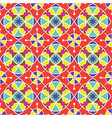 colorful tradition seamless pattern background vector image vector image