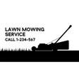 flat lawn mowing service