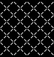 tile black and white pattern vector image