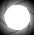 aperture camera vector image vector image