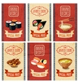 Asian Food Banners vector image vector image