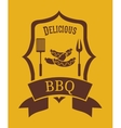 delicious barbecue design vector image
