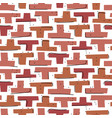 hand drawn mosaic block shapes abstract cuttings vector image vector image