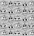 happy halloween cute halloween vector image vector image