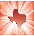 Red Texas vector image vector image