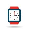 wristwatch elegant design vector image