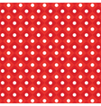 polka dot checkered pattern vector image