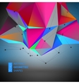 Abstract Geometric backgrounds full Color vector image