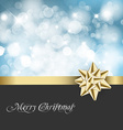 Christmas abstract background card vector image vector image