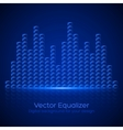 Glass Equalizer vector image vector image