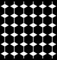hexagon shape seamless pattern vector image vector image