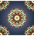 Seamless Mandala Print with Gradient vector image vector image