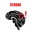stroke vector image vector image