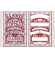 Vintage Hand Drawn Graphic Banners and Labels