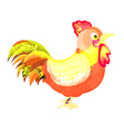 watercolor Cock isolated on white background vector image vector image